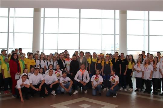 Красночетайские учащиеся – участники республиканского фестиваля подростковых трудовых бригад