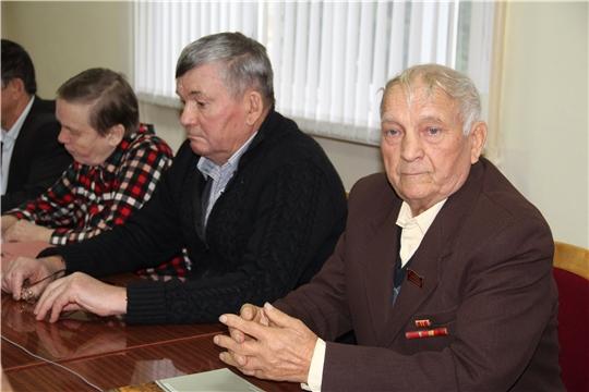 Совещание членов Союза ветеранов АПК в Красночетайском районе