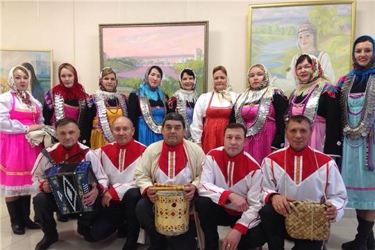 Народный фольклорный ансамбль «Шокăль» РДК выступил на межрегиональном конкурсе «Прославим женщину родную!»
