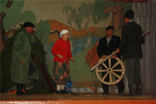 В Красночетайском районе продолжаются показы спектаклей в рамках II Республиканского фестиваля самодеятельного театрального творчества «Асамлă чаршав»