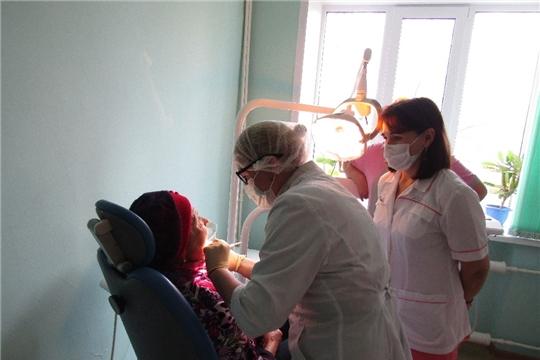 Республиканские стоматологи в Красночетайской районной больнице