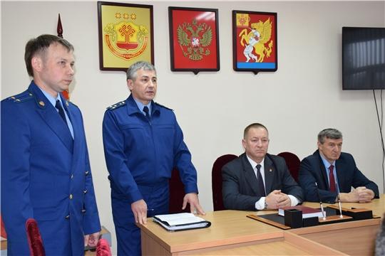 Представлен новый прокурор Красночетайского района