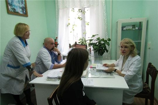 Республиканские эндокринологи в Красночетайской районной больнице