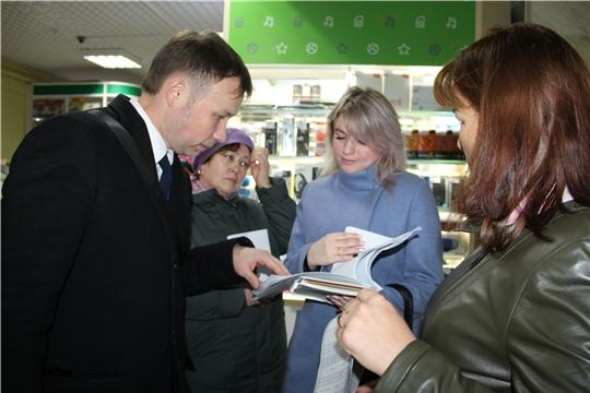 В Красночетайском районе проведен рейд по выявлению неформальной занятости и легализации «серой» заработной платы
