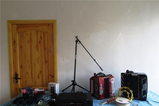 Укрепление материально-технической базы Питеркинского сельского Дома культуры