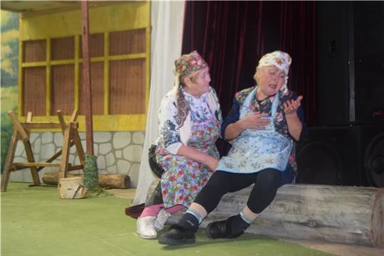 Театральные коллективы Аликовского района - участники II Республиканского фестиваля театрального творчества «Асамлã чаршав»