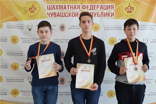 Восемь медалей завоевали шахматисты района на Первенстве Чувашии