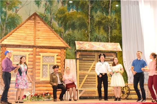 Красночетайский район: торжественное закрытие II Республиканского фестиваля театрального творчества «Асамлă чаршав»
