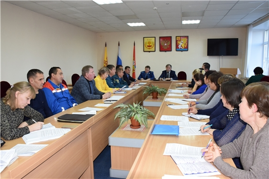 Очередное заседание комиссии по предупреждению и ликвидации чрезвычайных ситуаций и обеспечению пожарной безопасности Красночетайского района