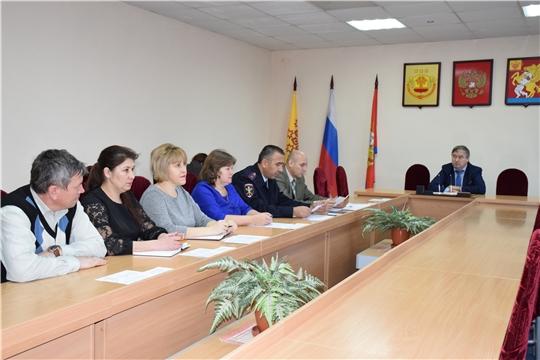 Состоялось итоговое заседание антинаркотической комиссии Красночетайского района