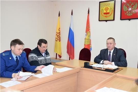 Состоялось итоговое заседание антитеррористической комиссии района