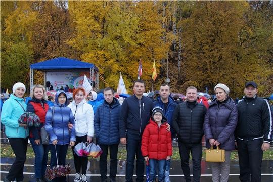 Жители и трудящиеся Ленинского района г.Чебоксары приняли активное участие в Международном дне ходьбы