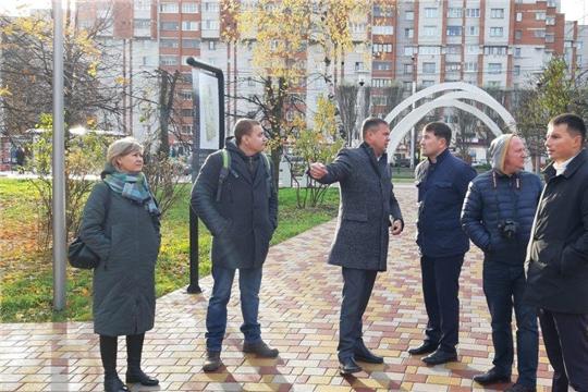 В Ленинском районе обсудили концепцию новогоднего оформления Дорисс-парка