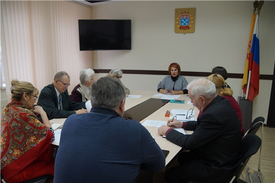 Ветераны Ленинского района обсудили участие в конкурсе «Ветераны в строю»