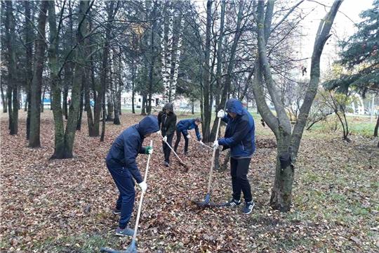 В Ленинском районе прошли очередные экологические мероприятия