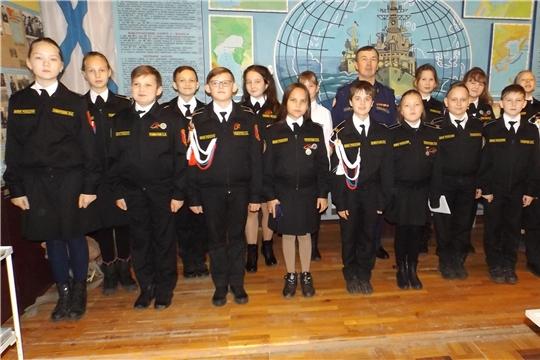 Чебоксарские кадеты побывали на открытии морской декады