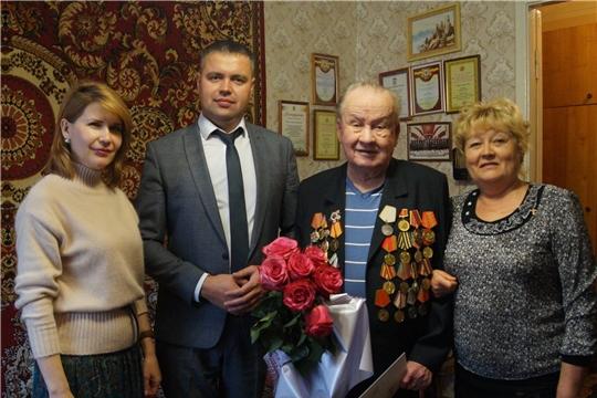 Свой 95-летний юбилей отметил организатор первого в России Музея материнской славы, участник войны Дмитрий Егоров