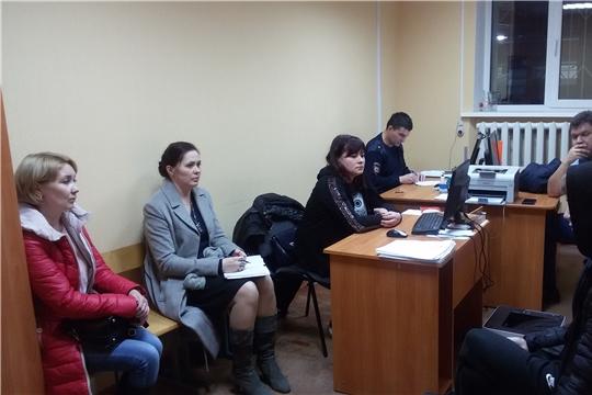 Состоялось заседание Совета профилактики при участковом пункте полиции № 1