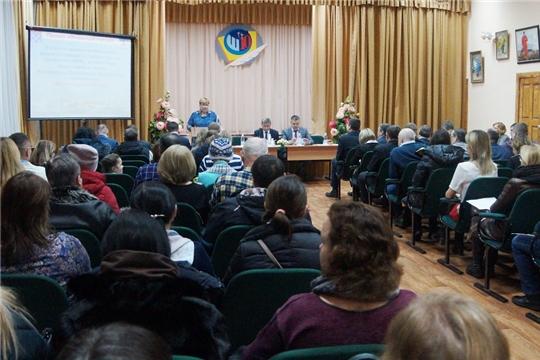 «Открытый город»: заместитель главы администрации г.Чебоксары Владимир Филиппов встретился с жителями Ленинского района