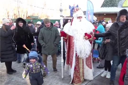 Чебоксары посетил главный Дед Мороз страны