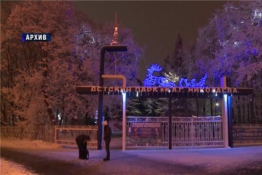В Чебоксарах завершаются последние приготовления к Новому году