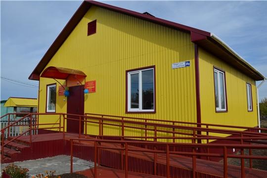 В рамках национального проекта «Здравоохранение» в Мариинско-Посадском районе открылись два ФАПа