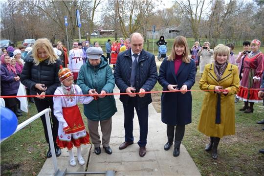 Бичуринский сельский дом культуры открыли в Мариинско-Посадском районе после капитального ремонта