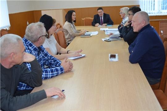 На рабочем совещании при главе администрации района обсудили вопросы погашения задолженности за поставленные коммунальные услуги