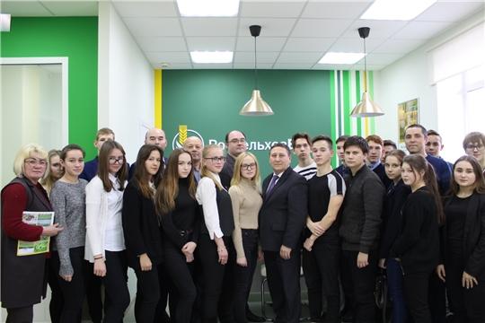 Учащиеся Сутчевской школы в рамках профориентационной работы посетили Чувашскую государственную сельхозакадемию
