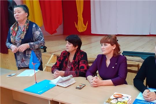 Идут отчетно-выборные собрания в сельских местных отделениях СПР Мариинско-Посадского района