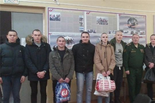 12 юношей Мариинско-Посадского района встанут под знамена Воздушно-десантных войск и войск спецназа