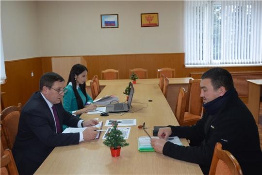 Мариинско-Посадском районе проходит Общероссийский день приема граждан