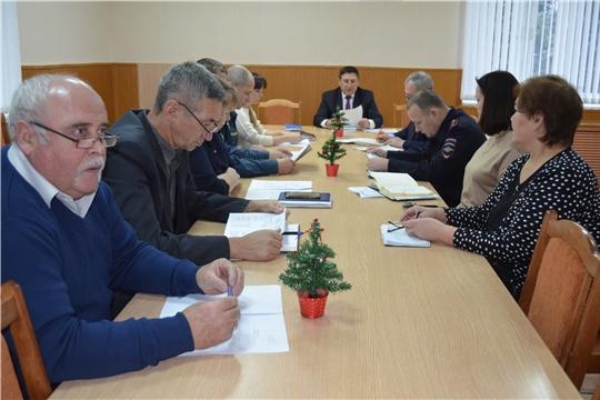 Состоялось заключительное в этом году заседание комиссии КЧС и ОПБ Мариинско-Посадского района