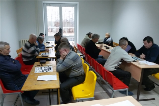 Прошел чемпионат Мариинско-Посадского района по шашкам