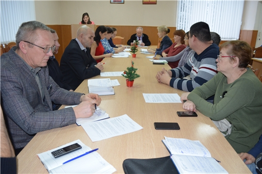 Заседание Совета по противодействию коррупции Мариинско-Посадского района