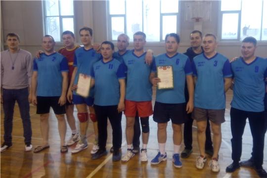 Предновогодний турнир по волейболу среди мужских команд