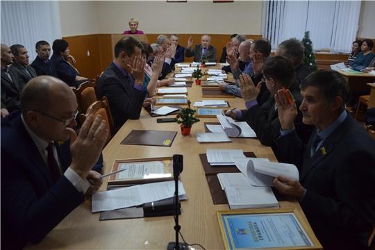 Внеочередное заседание Мариинско-Посадского районного Собрания депутатов