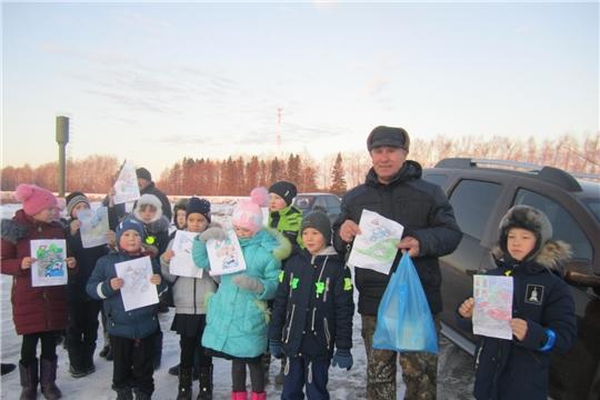 В Мариинско-Посадском районе состоялась VIII районная акция «Письмо пешехода!»