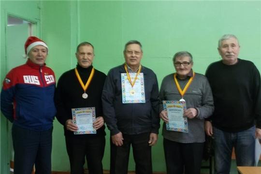 Представители района приняли участие предновогоднем турнире шашистов в г. Цивильске