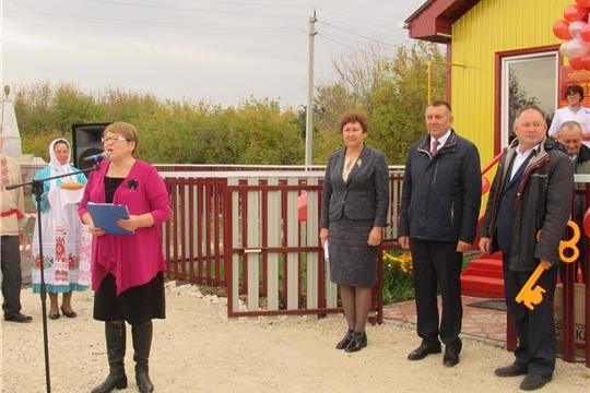 Открытие двух ФАПов в Яльчикском районе