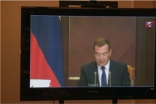 Дмитрий Медведев обсудил сегодня с главами регионов реализацию национальных проектов.