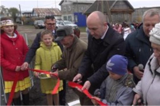 Сразу 4 фельдшерско-акушерских пункта и один сельский клуб открылись в Канашском районе
