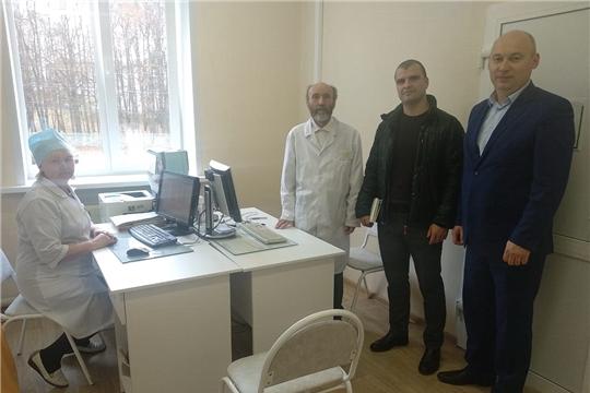 Главные специалисты Республиканской клинической больницы проконсультировали пациентов Моргаушской ЦРБ