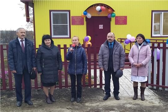 Открытие фельдшерско-акушерских пунктов в д.Кичкеево и д.Уразкассы Янтиковского района