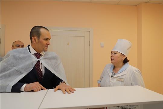 В рамках национального проекта «Демография» в Канашской ЦРБ открылся гериатрический кабинет для пациентов старше 75 лет