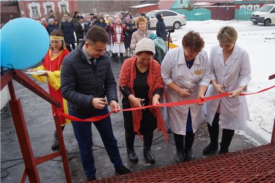 Новый ФАП в деревне Чешлама Козловского района