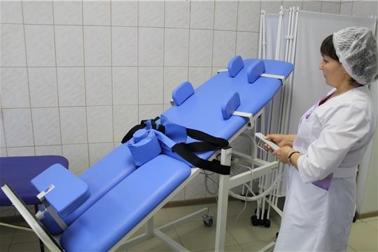 Новое оборудование в паллиативном отделении Комсомольской больницы