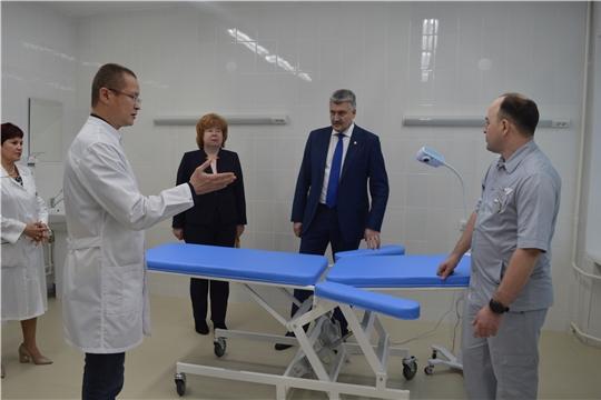 Открытие урологического отделения в Новочебоксарской городской больнице