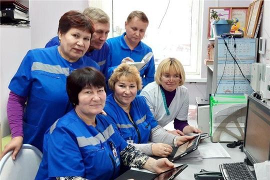 К концу 2019 года все 100 бригад скорой помощи в Чувашии оснастят планшетами