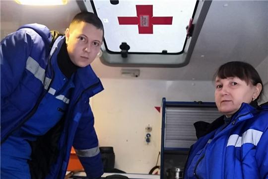Бригада скорой в Ибресинском районе спасла пациента после 5 минут клинической смерти